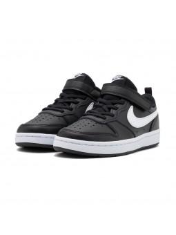Scarpe Sportive Nike Court Borough Low 2 Bambino Black bq5451002-black
