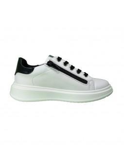Sneakers Asso Bambina White-Black ag8401-white-black