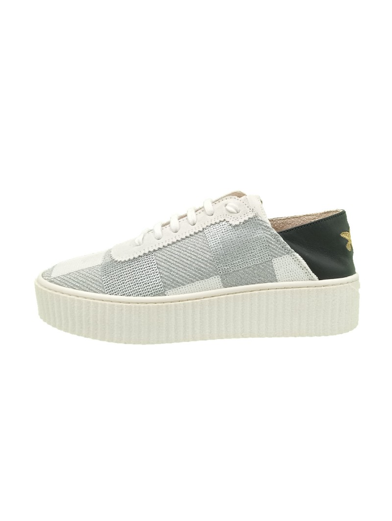 Sneakers Pinko Donna Bianco-Argento 209gy39a-bianco-argento