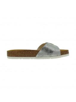 Sandali Biostar Donna Snake-Silver Confort Made in Italy 201-snake-silver