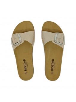 Sandali Biostar Donna Snake-Rame Confort Made in Italy 201-snake-rame