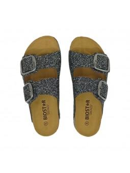 Sandali Biostar Donna New-Frost-Nero Confort Made in Italy 205-new-frost-nero