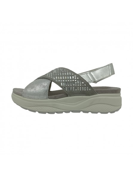 Sandali Imac Donna Silver-Grey Confort Made in Italy 309730-silver-grey