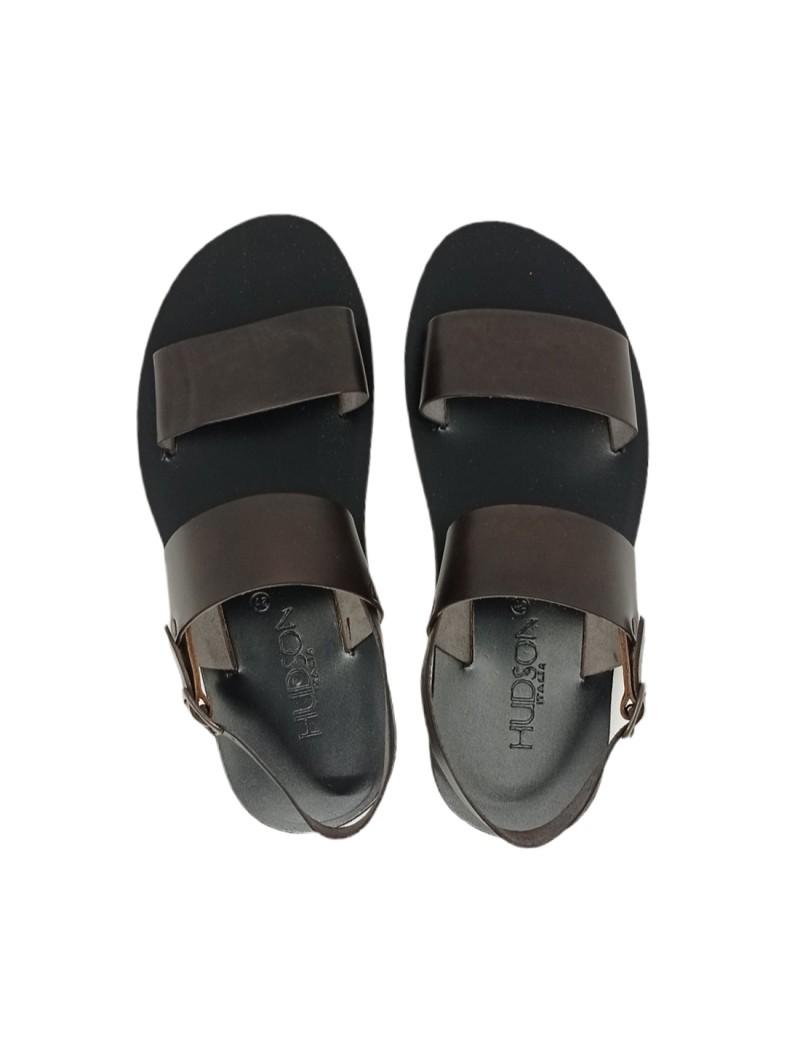 Sandali New Collection Uomo Nero Confort Made in Italy 050-nero