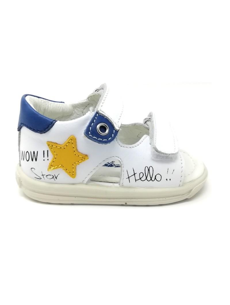 Scarpe Falcotto Sandali da Bambino di colore Bianco/Azzurro