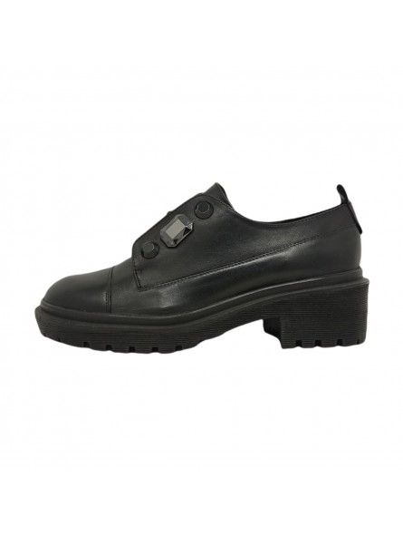 Scarpe Basse  Donna Black Made in Italy f0combat09diacoraline-black