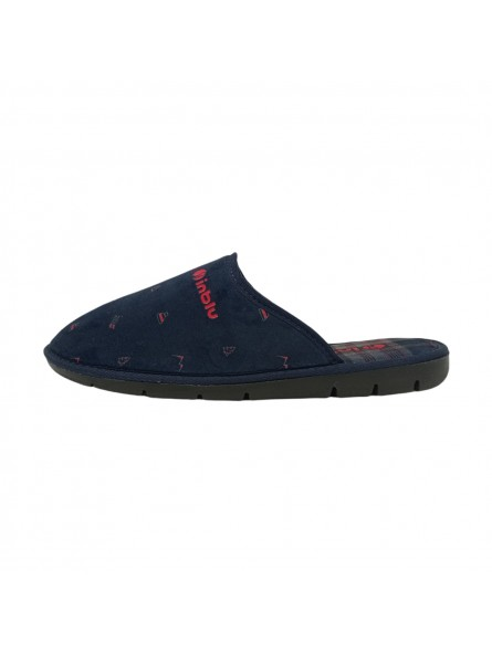 Pantofole Inblu Uomo Blu Confort 91000020-blu