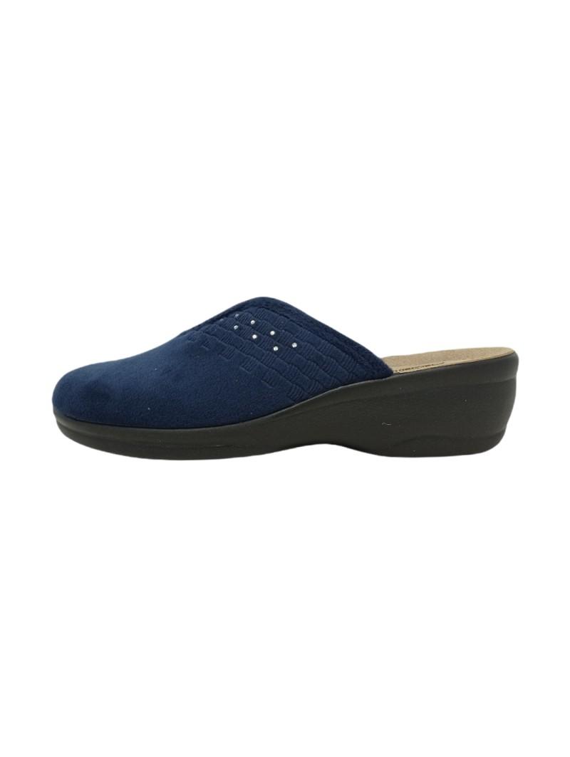 Pantofole Inblu Donna Blu Confort bj000129-blu