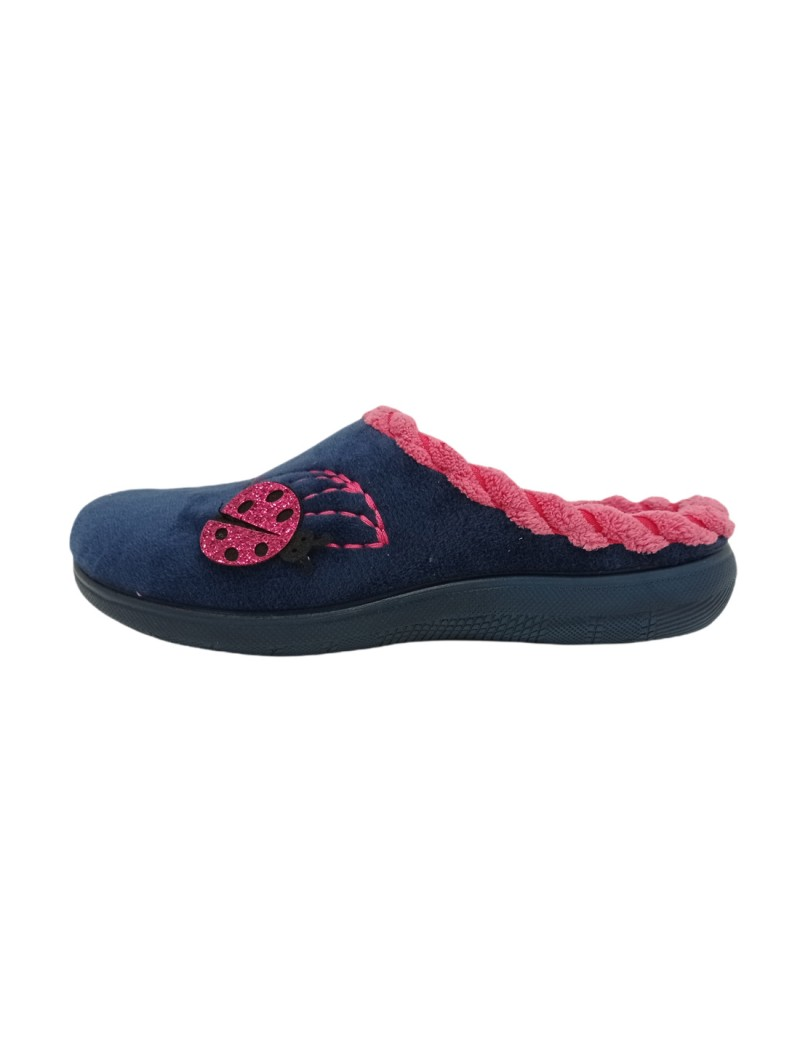 Pantofole Inblu Donna Blu Confort ec000072-blu