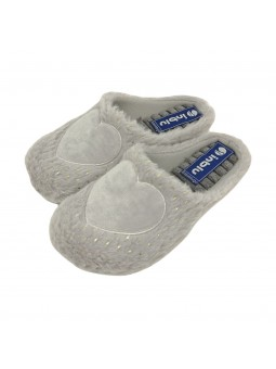 Pantofole Inblu Donna Grigio Confort ec000079-grigio