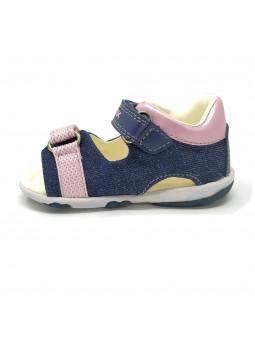 Scarpe GEOX Sandali da Bambina di colore Avio/Pink