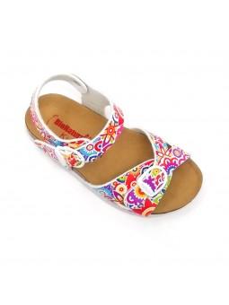 Scarpe Bionatura Sandali da Bambina/Ragazza di colore St. Etnico